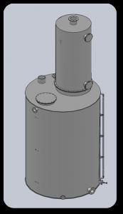 Установки декарбонизации воды RUN AQUA-D