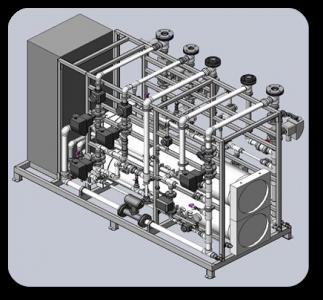 Electrodeionization units RUN AQUA-EDI