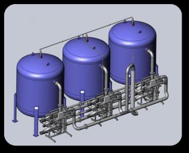 Установки фильтрации воды RUN AQUA-F