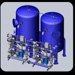 Water filtration units RUN AQUA-F