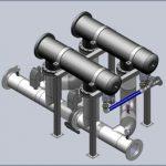 Water filtration units RUN AQUA-MF
