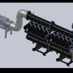 Установки механической фильтрации воды RUN AQUA-MF