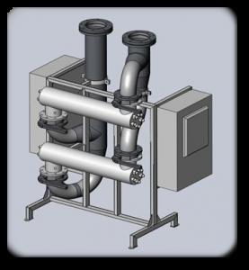 Water sterilization units RUN AQUA-UV